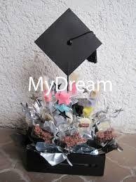 Resultado de imagen para arreglos para graduacion con dulces