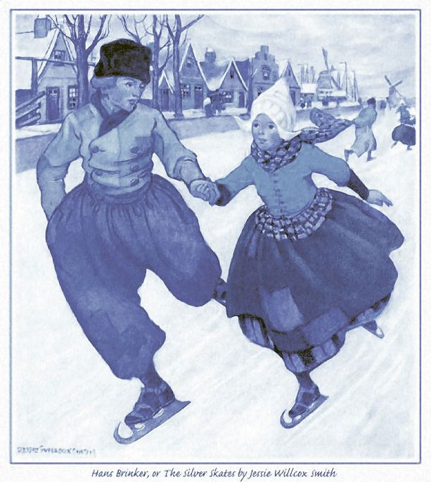 Delft Blue, Hans Brinker; or The Siver Skates by Willcox Smith