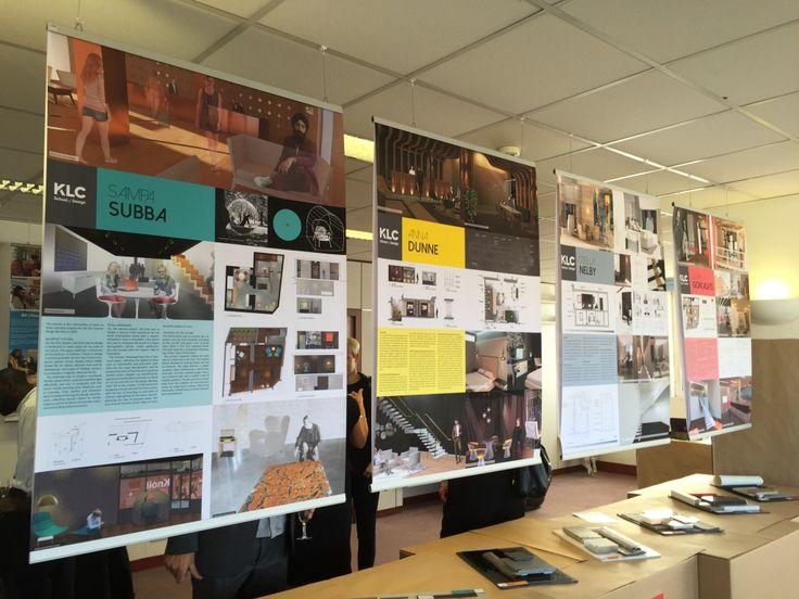 Klc school of design graduate exhibition private view interior design coursesschool