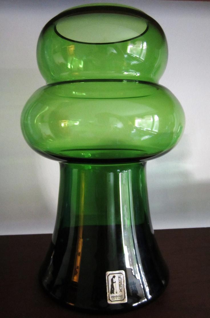 Mid-century vase by Kumela Finland