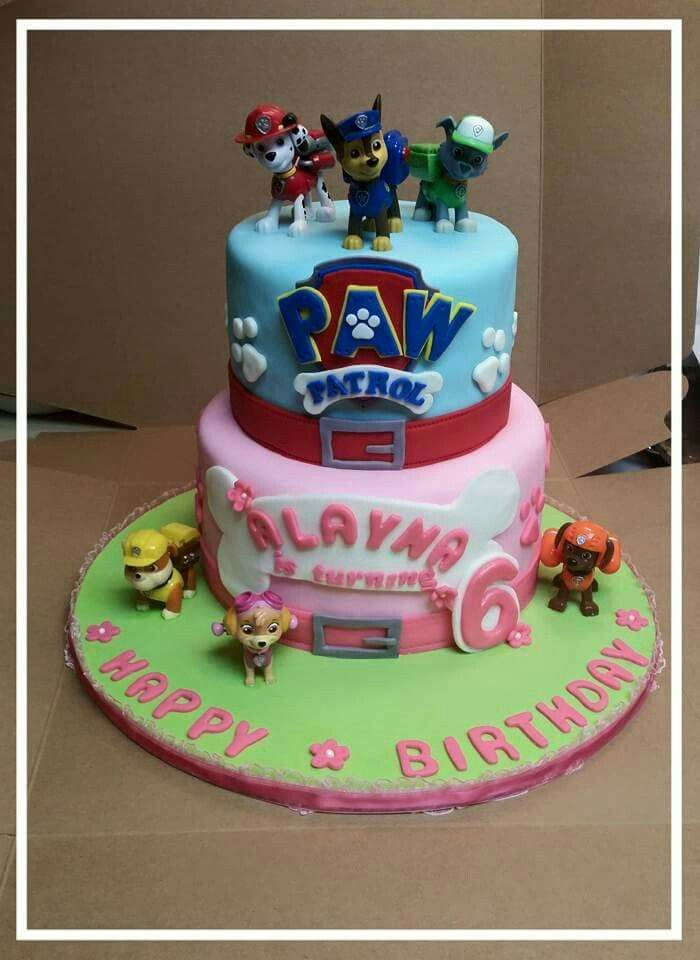 Paw Payrol Birthday Cake