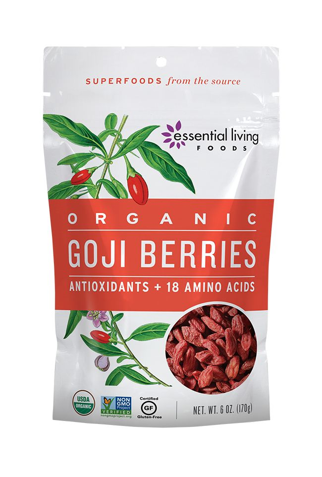 Goji Berries - With a potent combination of protein and super-nutrients (and a long history as a traditional Chinese longevity food), it's no wonder these tasty little morsels have become the world's most popular super berry.