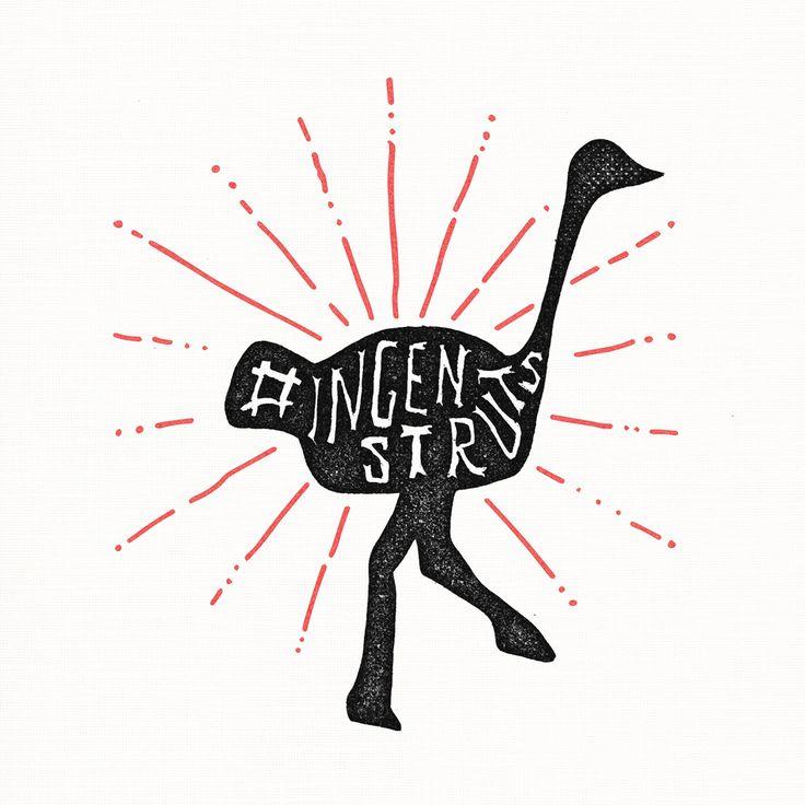 Illustration för kampanj 2014.  www.ingenstruts.se  #ingenstruts