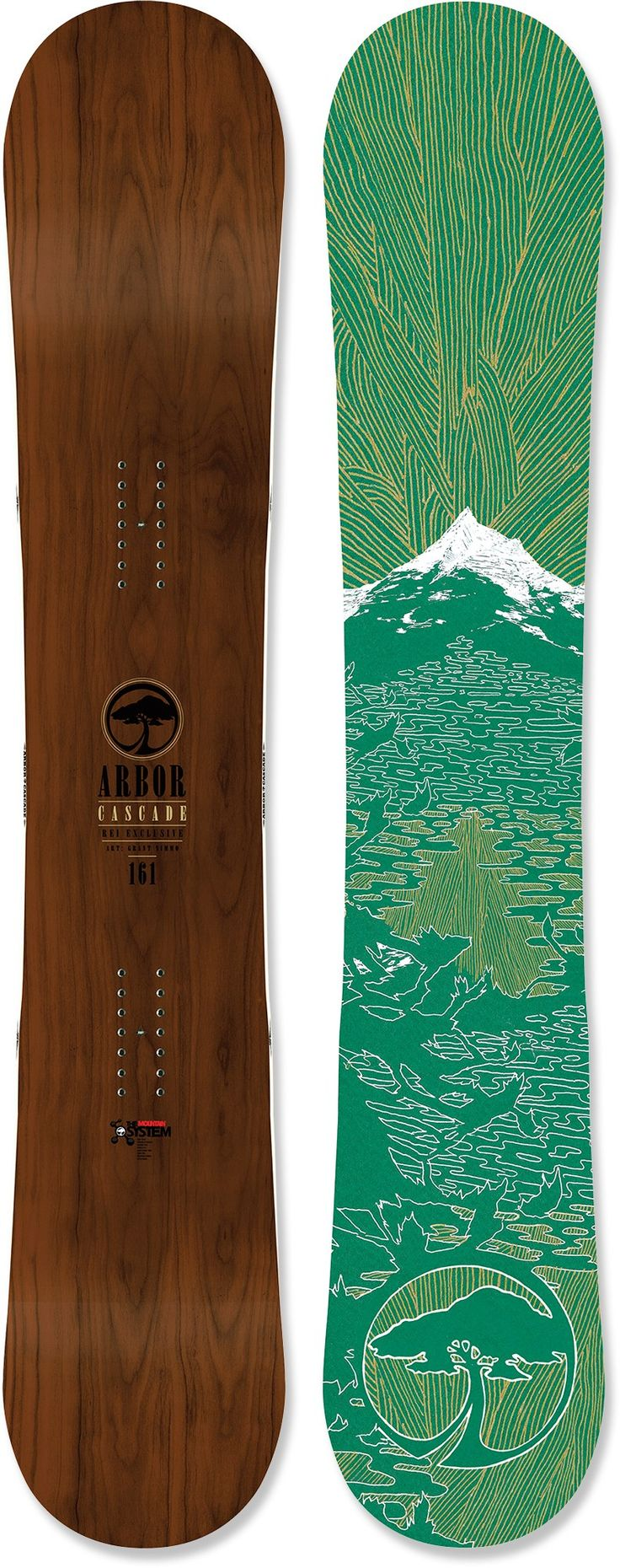 Buy a snow board, take some lessons, and never leave the slopes in the winter. Someday!  Arbor Cascade Snowboard - 2012/2013