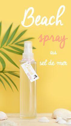 Cheveux wavy : mon beach spray au sel de mer