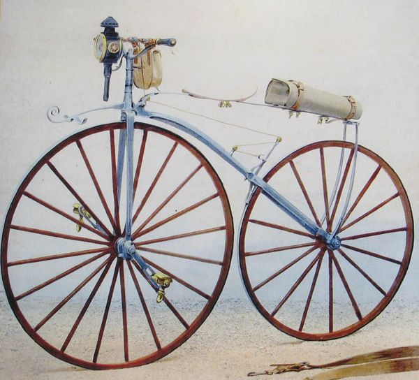 Uitvinding van de fiets