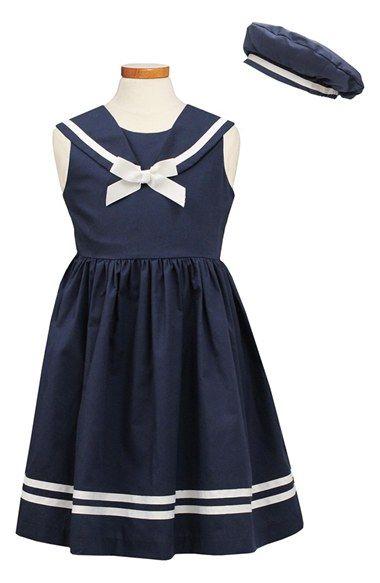 Sorbet Sailor Dress & Hat (Toddler Girls & Little Girls) available at #Nordstrom