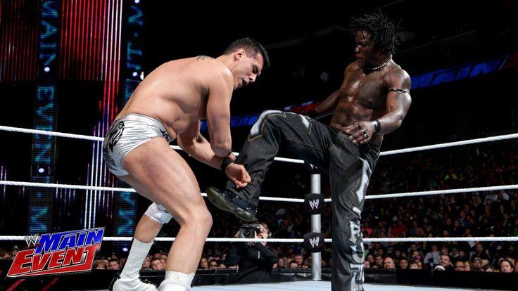 R-Truth vs. Alberto Del Rio: WWE Main Event, Jan. 29, 2014 - http://thunderbaylive.com/r-truth-vs-alberto-del-rio-wwe-main-event-jan-29-2014/
