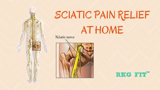how to fix sciatic nerve pain at home