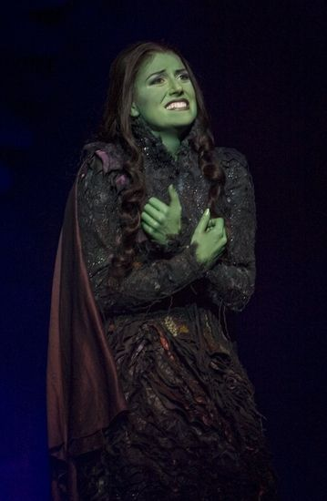 I would die a happy woman if I could play Elphaba in Wicked on Broadway. Don't judge.
