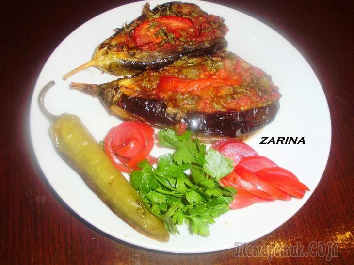 Баклажаны с мясным фаршем по-турецки (Karniyarik-Карныярык). Ну очень вкусно!!!