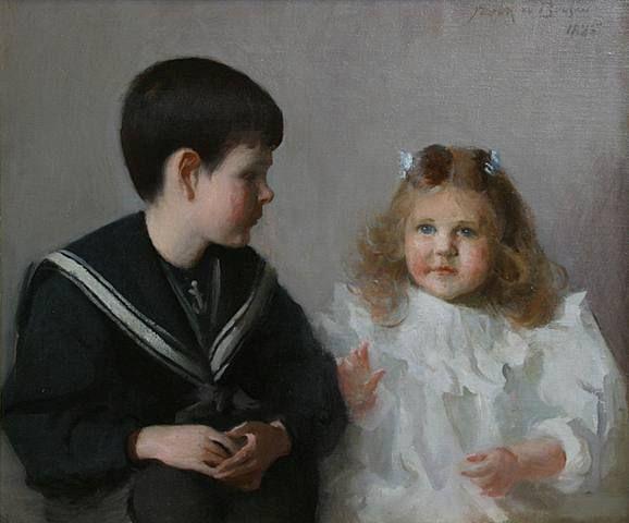 Harold And Katherine Walker by Frank Weston Benson