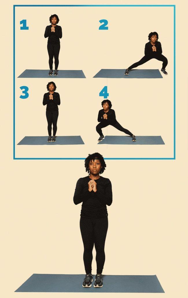 12упражнений, чтобы привести себя вформу
