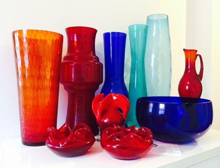 Kolekcja naszych wazonów we wszystkich kolorach tęczy. www.wonderroom.pl