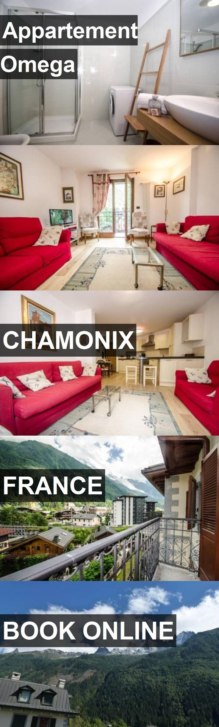 Hotel Appartement Omega in Chamonix, France. For more information, photos, reviews and best prices please follow the link. #France #Chamonix #travel #vacation #hotel