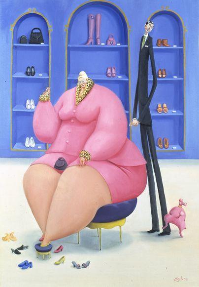 Картинки толстушек прикольные мультяшная