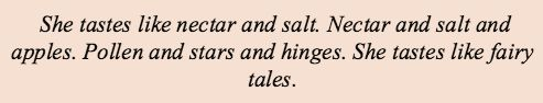 tastes like fairy tales
