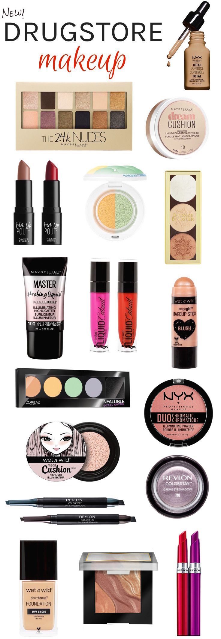 Makeup Must Haves For Beginners: 17 Best Ideas About New Year's Makeup On Pinterest