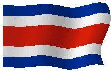Banderas Animadas de Costa Rica. Bandera Animada de Costa Rica. Dibujo, Ilustraciones e imágenes de las enseña nacional. Representaciones del simbolo nacional. Representación del simbolo del país. Enseña, Blasón o Emblema. Ilustración, dibujos o imagen gif animados de Banderas de Costa Rica. Himno nacional de Costa Rica y Bandera Nacional
