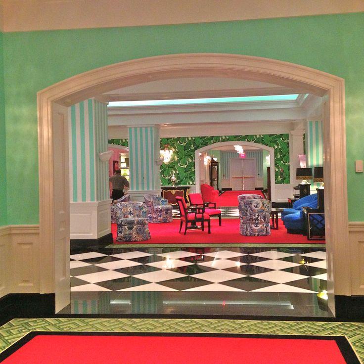 Hollywood Regency Interior Design: 37 Best Images About Dorothy Draper On Pinterest