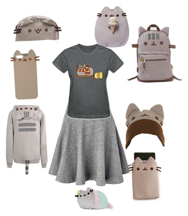 """Pusheen"" by ginger11709 ❤ liked on Polyvore featuring Pusheen and Kenzo"