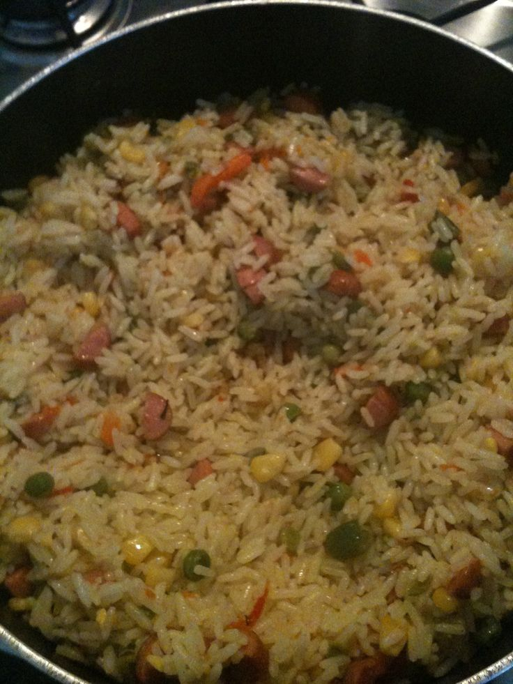 How to Make Fried Rice the Nigerian Way