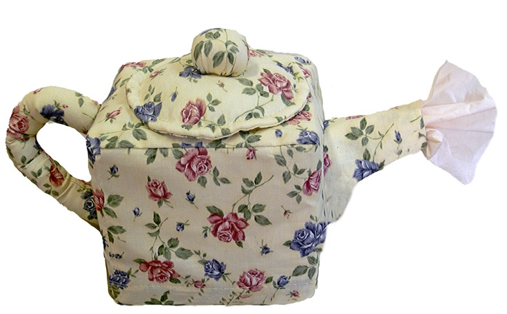 Teapot Sewing Pattern Tissue Box Cover by CreationsbyJenMarie
