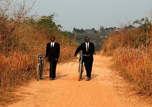Fato e bicicleta