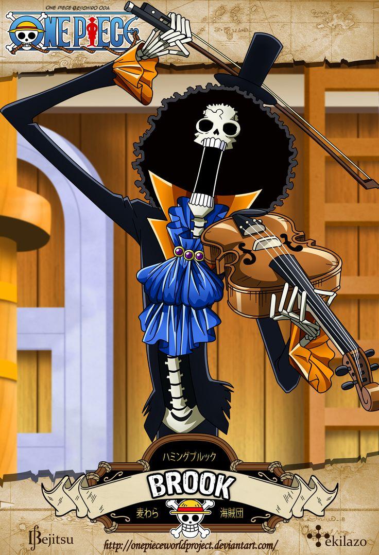 One Piece - Brook by OnePieceWorldProject.deviantart.com on @deviantART