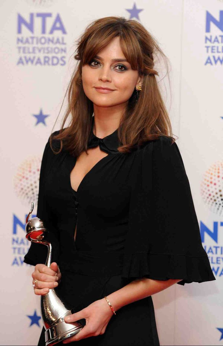 Jenna Coleman - lovely hair and make up