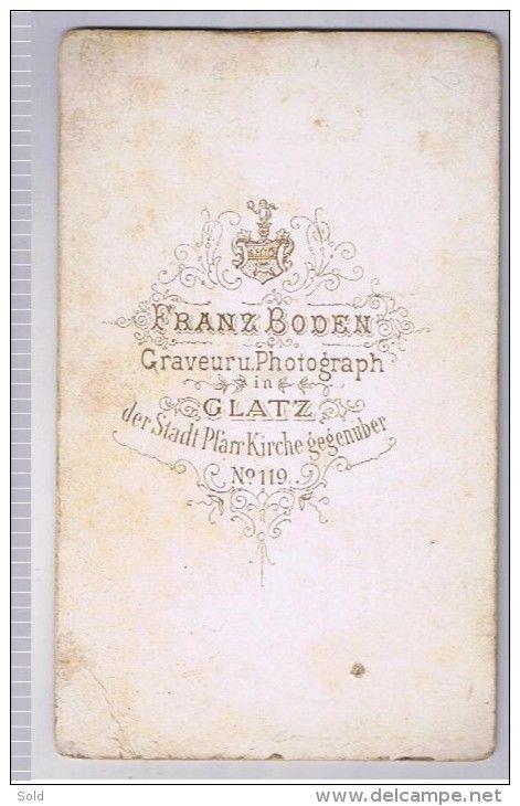 CDV Franz Boden - Glatz