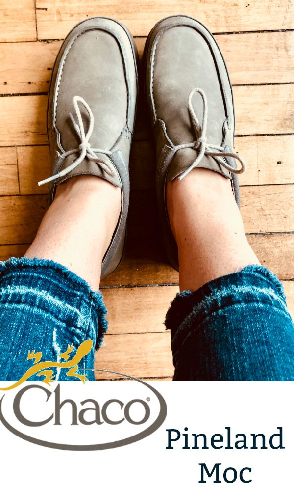 Approved by podiatrists, the Chaco Pineland Moc is a casual