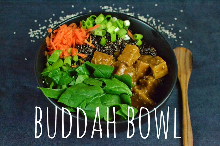 the perfect recipe to detox from the weekend and start the week nourished and erngised! - BUDDHA BOWL