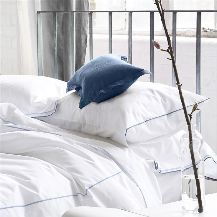 Astor Dusk & Cloud Bedding | Designers Guild