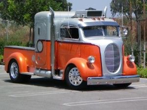 1938 Ford Cab Over Engine Truck.