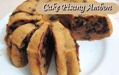 Resep dan Cara Membuat Cake Pisang Ambon