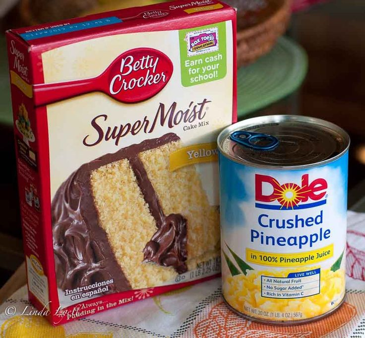 Recipe For Yellow Cake Mix And Crushed Pineapple
