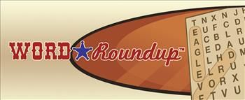 Word Roundup #WordGame | Word Roundup is an innovative variation on a classic format, combining the challenge of a crossword with the quick-solve satisfaction of a word search. Unlike most word searches, in which the player knows what words to look for, Word Roundup gives crossword-style clues for the hidden words. If you think word searches are too easy, or if you're looking for a new wrinkle on an old favorite, give Word Roundup a try! #WildTangent