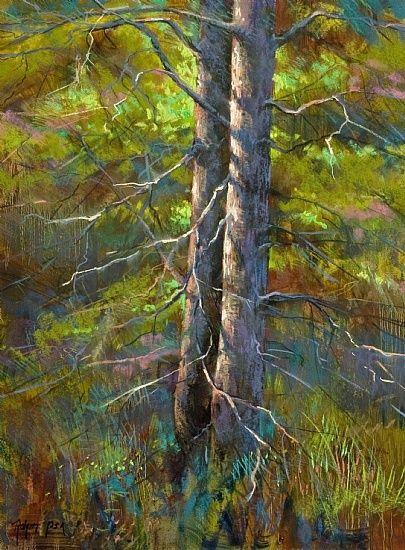 Summer Light by Robert Rohm Pastel ~ 24 x 18