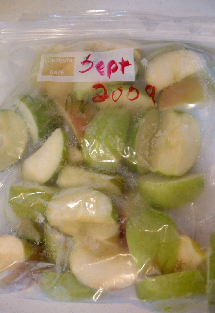 Freezing Apples - and what the old folks taught me