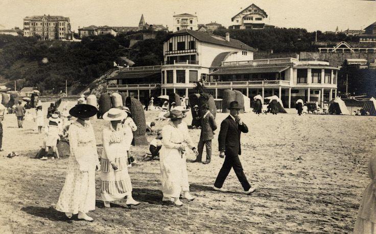"""Balneario de Igeretxe en la playa de Ereaga (Cedida por Ignacio Azaola """"Canario"""") (ref. 04062)"""