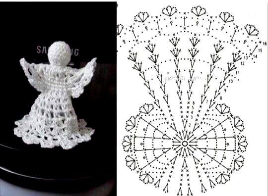 Angeles tejidos al crochet. Hay gran diversidad de angeles para hacer en crochet, hoy hemos reunido una bonita coleccíon de angeles para que puedas elegir tus preferidos e hacerlos tu misma. Hoy les propongo hacer ángeles tejidos a crochet, un … Ler mais... →