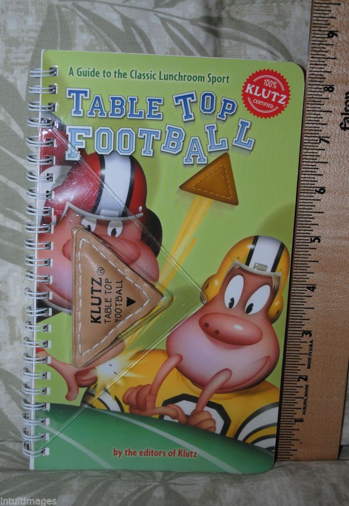 Table Top Football  A Guide to the Classic Lunchroom Sport Includes Football