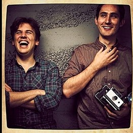 The co-founders of Instagram, Kevin Systrom and Mike Krieger.