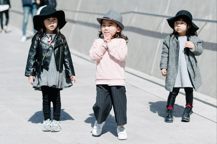 Our Favorite Street-Style Pics From Seoul Fashion Week   When 4-year-olds are more fashionable than me