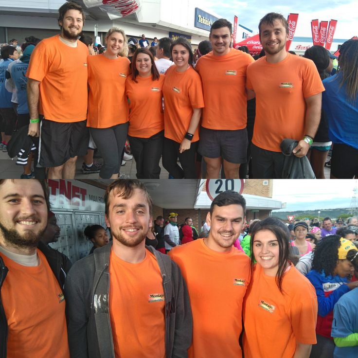 Now that's a lot of orange!!  Here is our Vincentpark team who ran the Breakfast Run on Saturday. GO TEAM!  #healthylifestyle #WeCare #MyMontagu