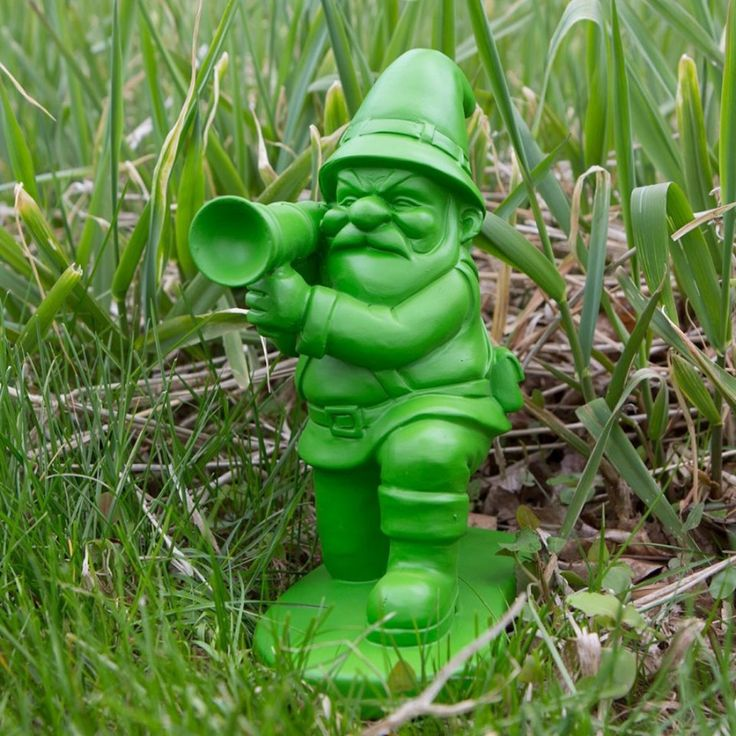 Nano da giardino Army Gnome