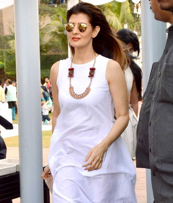 Sangeeta Bijlani at Arpita Khan Sharma's baby shower. #Bollywood #Fashion #Style #Beauty #Hot #WAGS