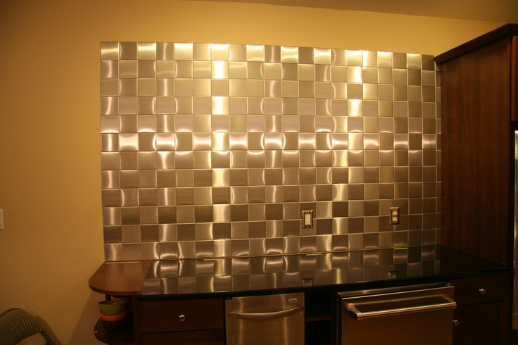 24 Decorative Self Adhesive Kitchen Metal Wall Tiles 3 Sq Ft | eBay