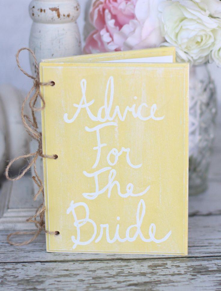 Shabby Chic Wedding Guest Book Ideas Vintage Bridal Shower